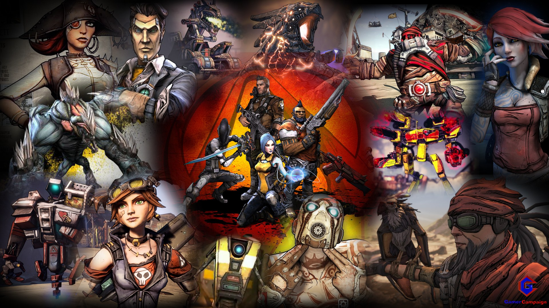 Borderlands 2 Exclusive Wallpaper