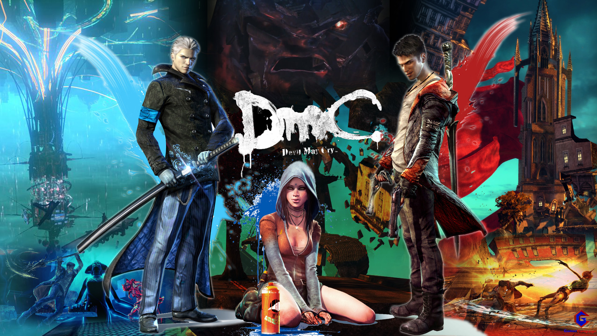 Devil May Cry Exclusive Wallpaper