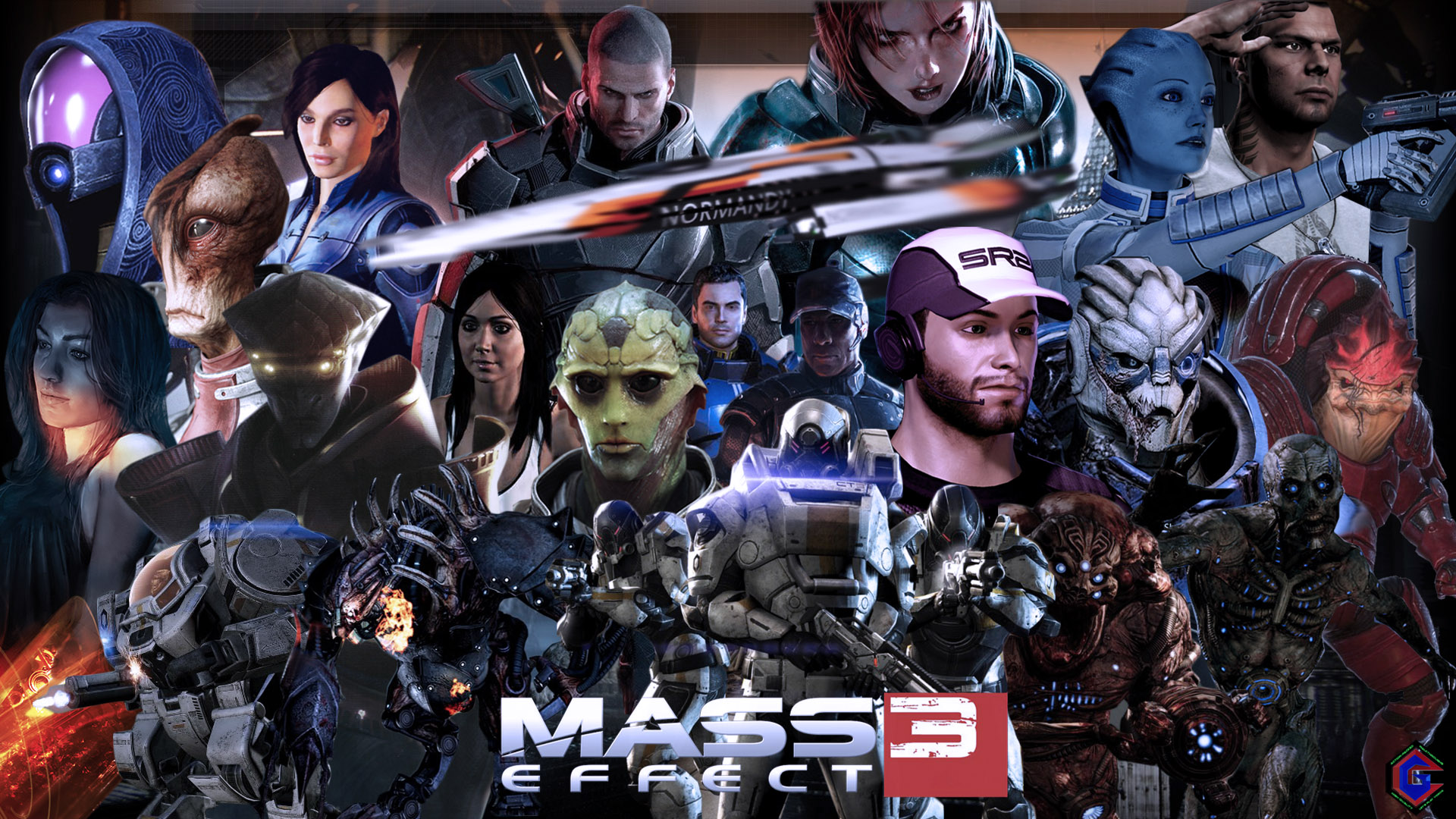 Mass Effect 3 Exclusive Wallpaper