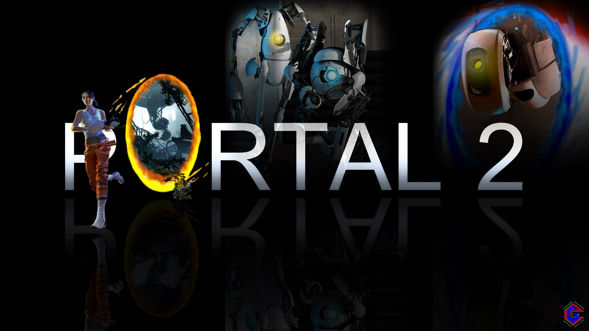 Portal 2 Exclusive Wallpaper