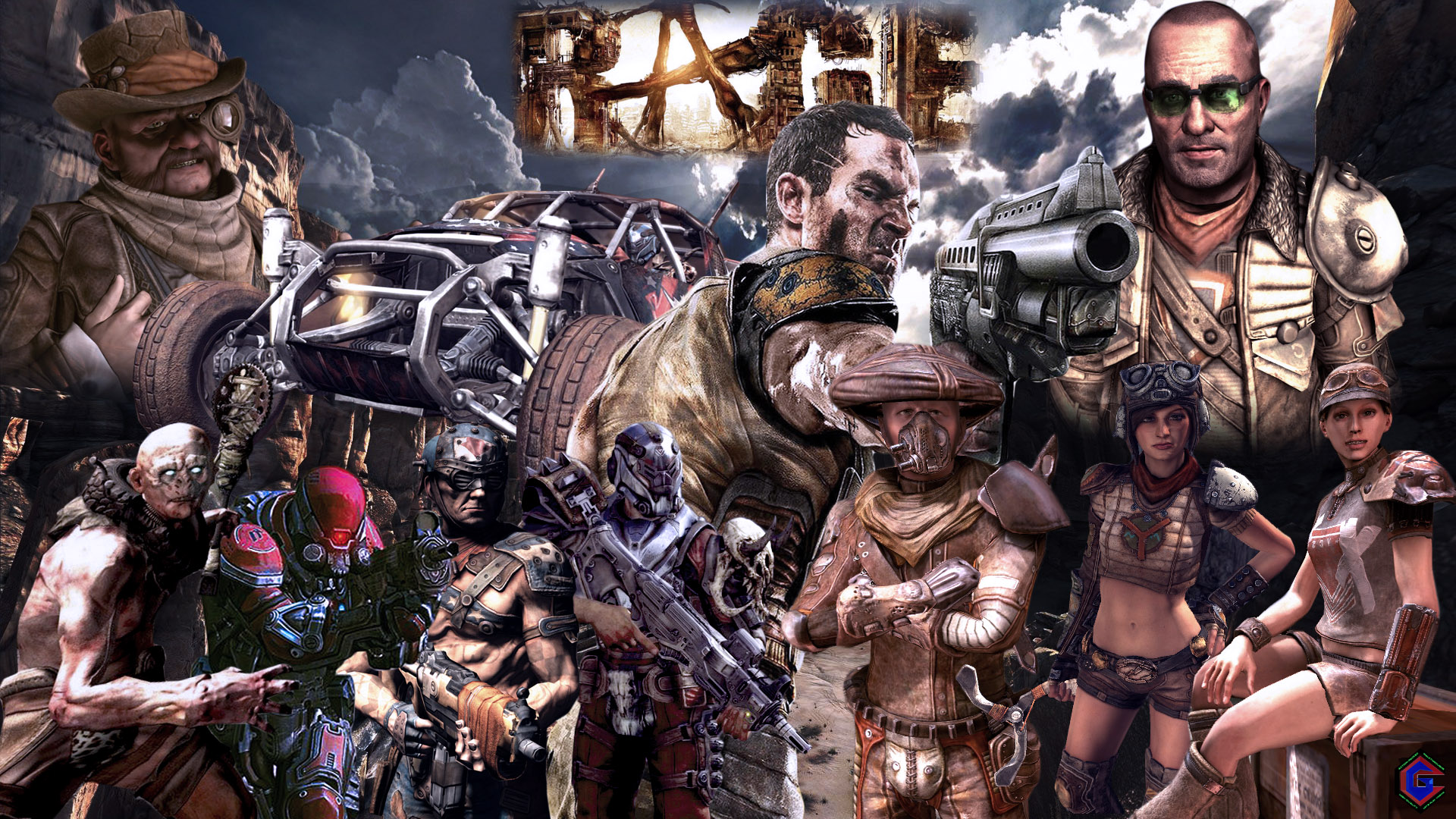 RAGE Exclusive Wallpaper