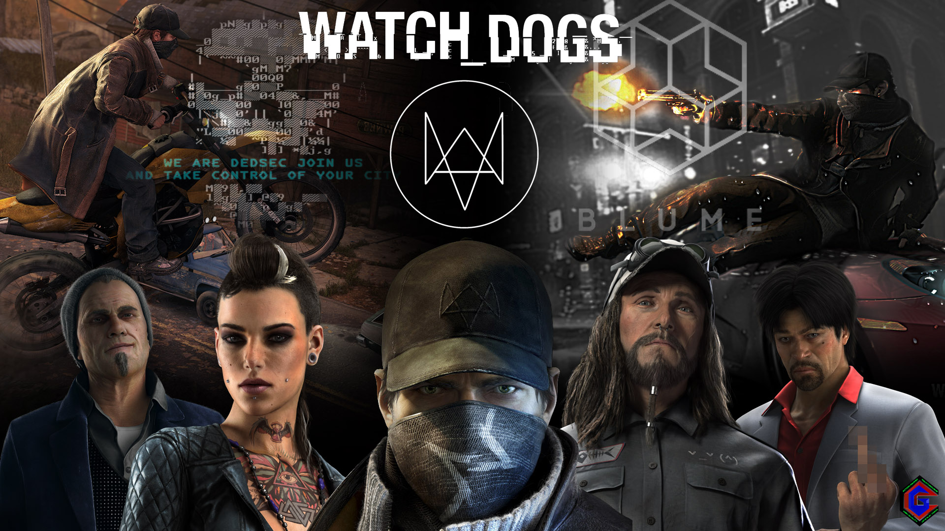 Watch_Dogs Exclusive Wallpaper